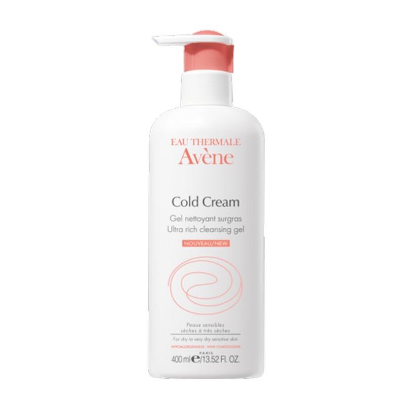 Avène Cold Cream Gel Limpiador 400 ml