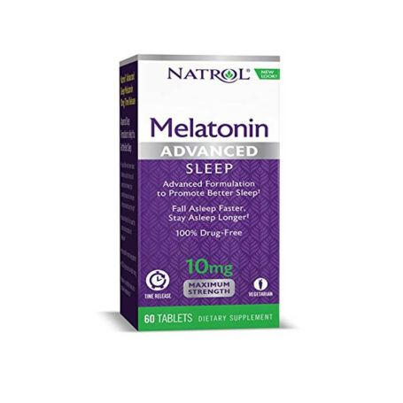 Melatonina Natrol Advanced Sleep 10mg 60 tabletas