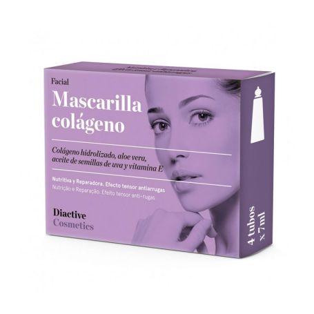 Diactive Mascarilla Colágeno 4 unidades