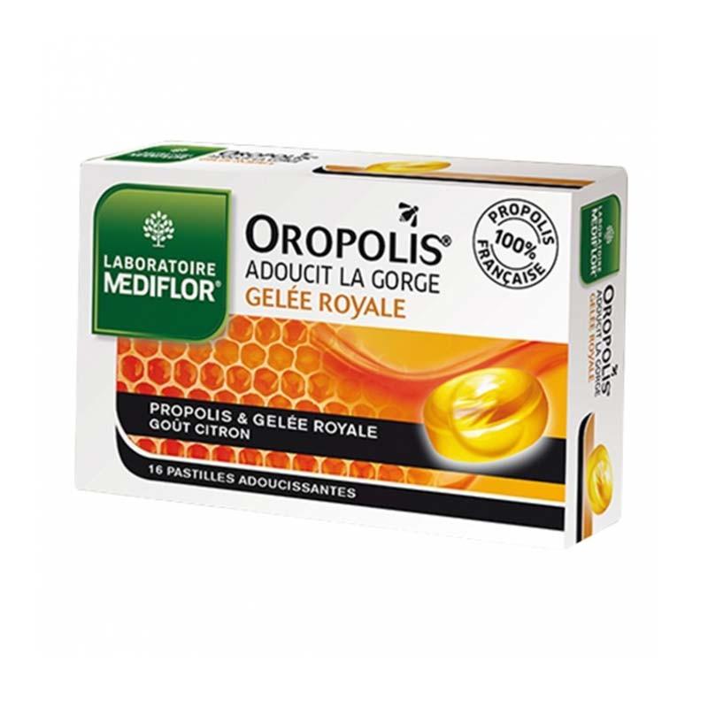 Oropolis Caramelos Jalea Real Suavizantes Garganta Sabor Limón 16 ud