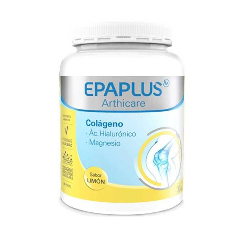 Epaplus Arthicare Colágeno Ácido Hialurónico Magnesio Sabor Limón 332gr