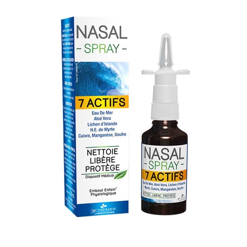 3 Chenes Congestión Nasal Spray 7 Activos 50ml