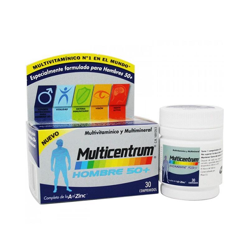 d046c5a461ada0 Multicentrum Hombre 50+ 30 comprimidos