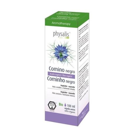 Physalis Aceite Vegetal Comino Negro BIO 100ml
