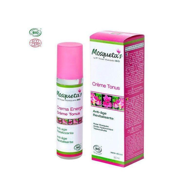 Mosqueta's Crema Energía Antiedad Rosa Mosqueta 50ml