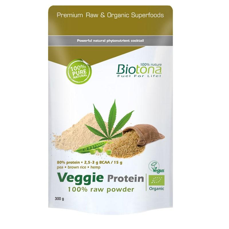Biotona Proteínas Veganas en Polvo 300gr
