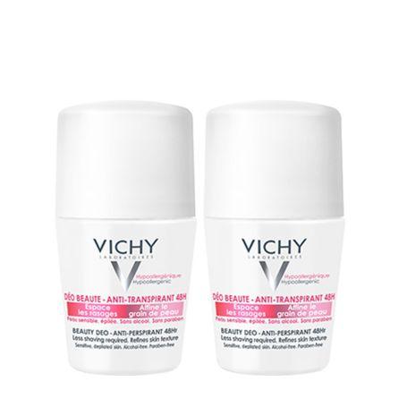 Vichy Desodorante Roll-On Embellecedor de Axilas x2 unidades