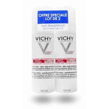 Vichy Beauty Desodorante Antitranspirante 48 h 125ml x2 unidades