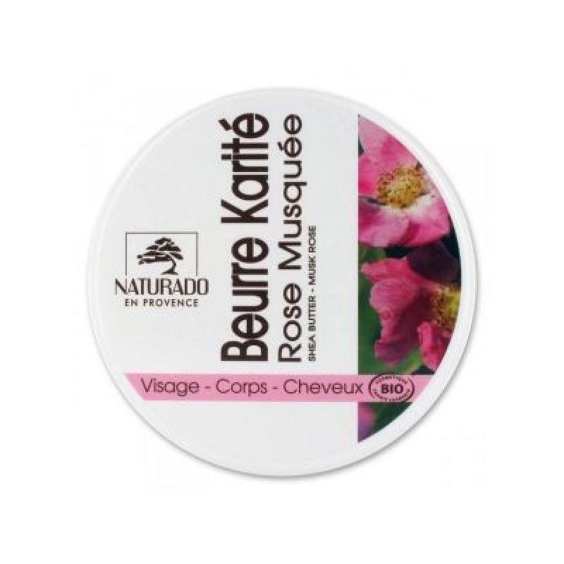 Naturado Manteca de Karité BIO Rosa Mosqueta 150 ml