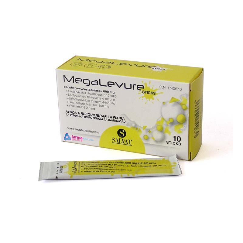 MegaLevure Probióticos 10 sticks