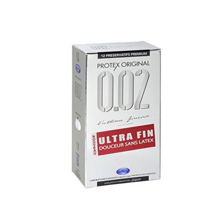 Protex Original 0.02 Preservativos Ultra Finos 12 unidades