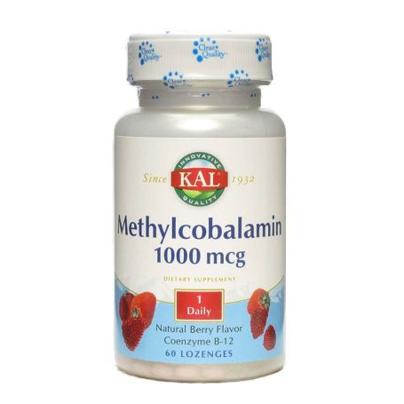 Solaray Methylcobalamin 1000mcg 60 comprimidos