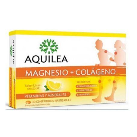 Aquilea Magnesio Colágeno Sabor Limón 30 comprimidos