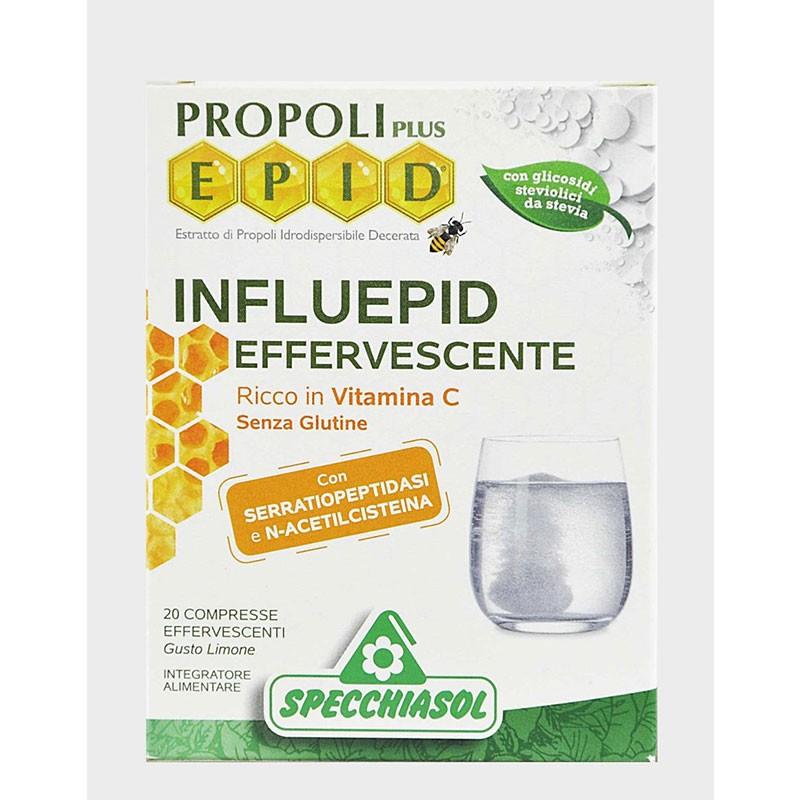 Epid Própoli Influepid Efervescente con Vitamina C 20 comprimidos efervescentes