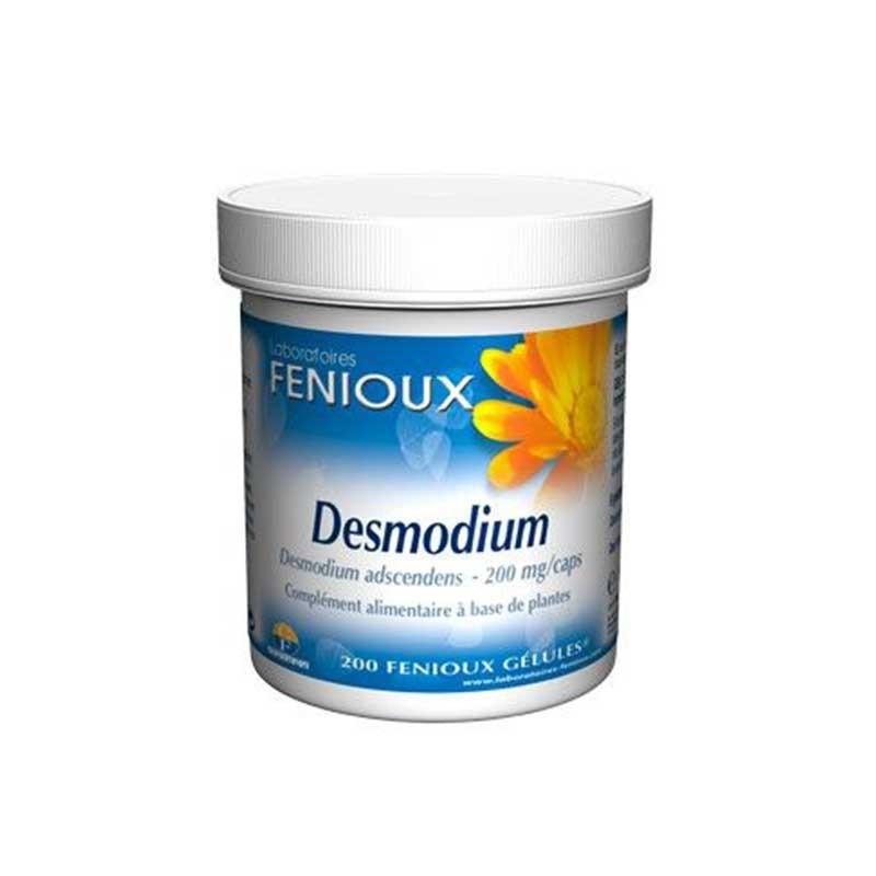 Fenioux Desmodium Función Hepática 200 cápsulas