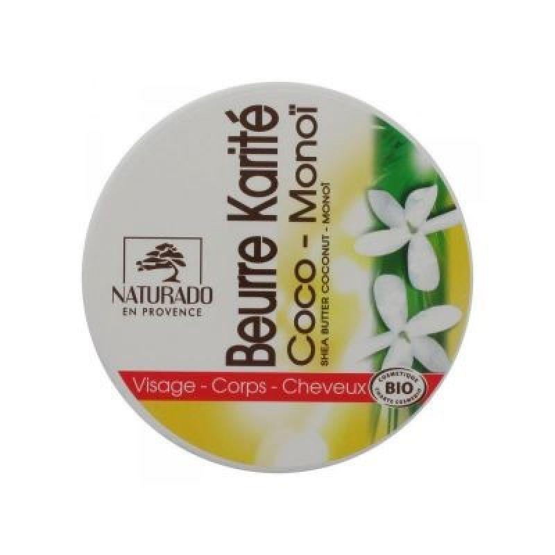 Naturado Manteca de Karité BIo con Aceite de Coco y Monoi 135gr