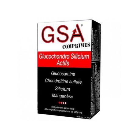 GSA Glucochondro Silicium Actifs 30 comprimidos