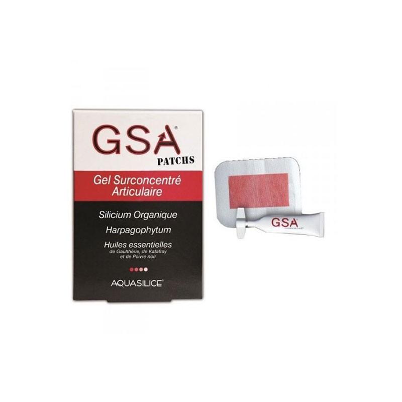 GSA Gel Surconcentrado Articular 5 Parches