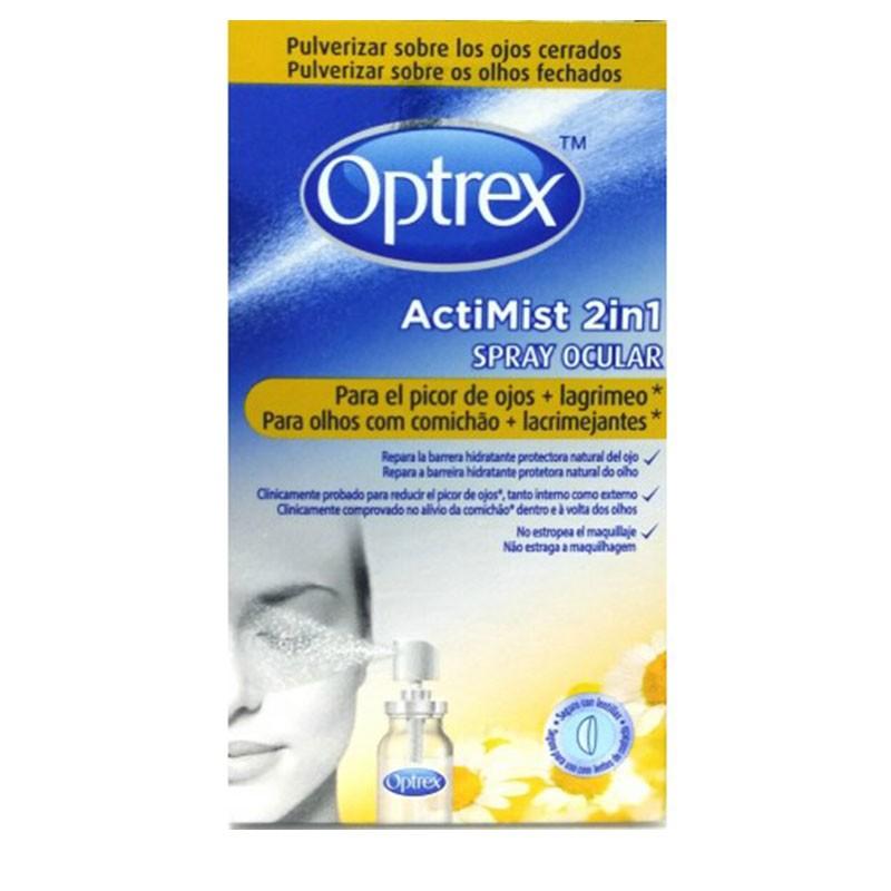 Optrex AciMist 2 en 1 Spray Ocular Picor de Ojos y Lagrimeo 10 ml