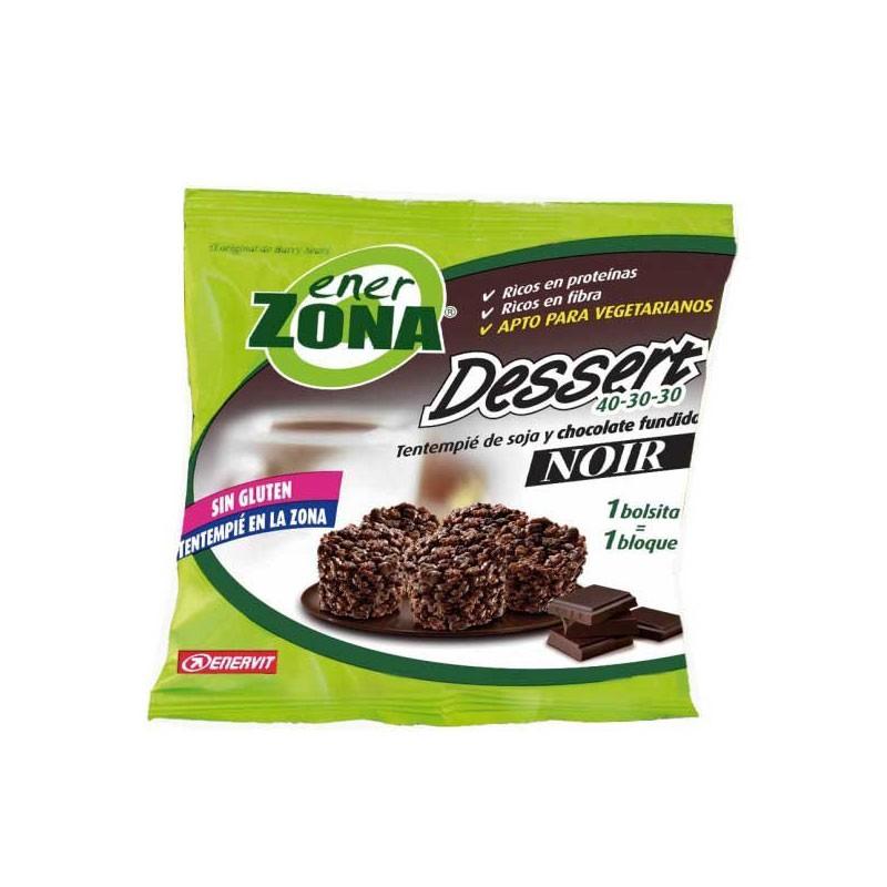 EnerZona Dessert Tentempié de Soja y Chocolate Fundido