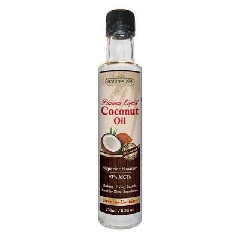 Natures Aid Aceite de Coco Puro 250 ml