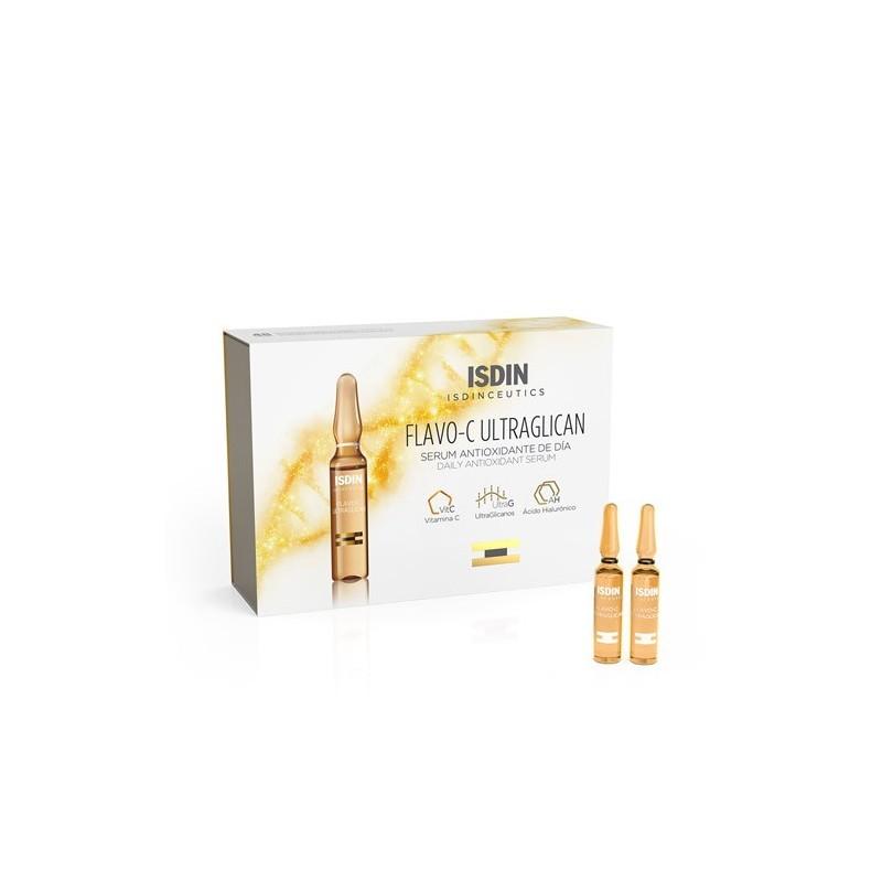 Isdinceutics Flavo C Ultraglican Sérum Antioxidante de Día 30 ampollas