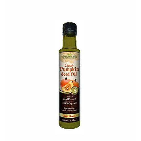Natures Aid Aceite de Calabaza Orgánico 250 ml