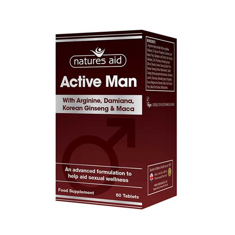 Natures Aid Active Man 60 comprimidos