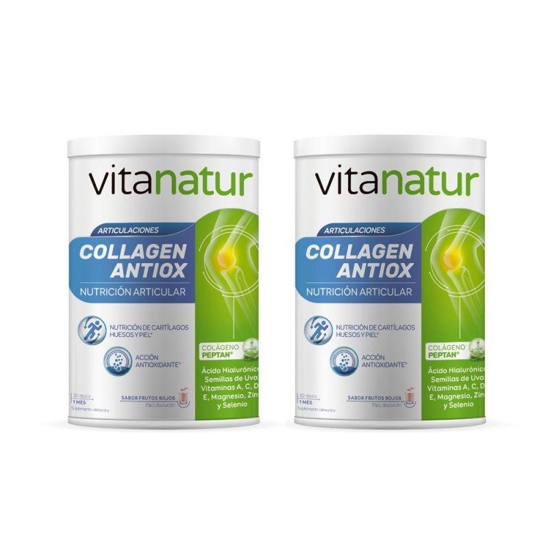 Vitanatur Colágeno Antiox Pack Oferta 2 unidades