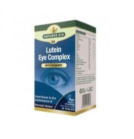 Natures Aid Lutein Eye Complex 90 tabletas