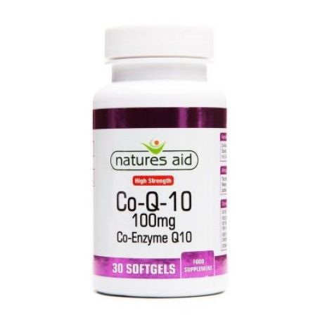 Natures Aid Coenzyma Q10 100mg 30 tabletas