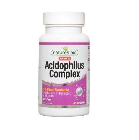 Natures Aid Acidophilus Complex 60 cápsulas