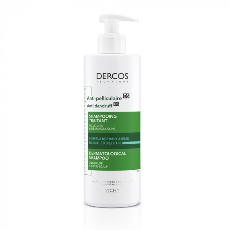 Dercos DS Champú Anticaspa Cabello Normal Graso 400ml