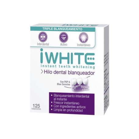 IWhite Hilo Dental Blanqueador 125 tratamientos