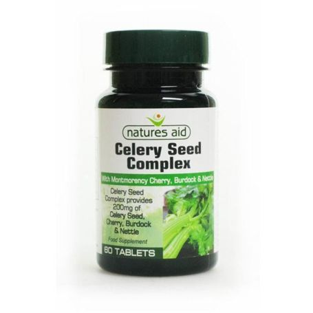 Natures Aid Celery Seed Complex 60 tabletas