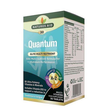 Natures Aid Quantum Optimum Performance 30 tabletas