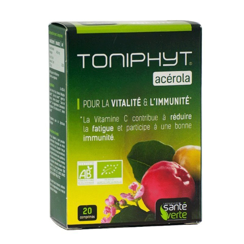 Toniphyt Acerola Vitalidad e Inmunidad 20 comprimidos