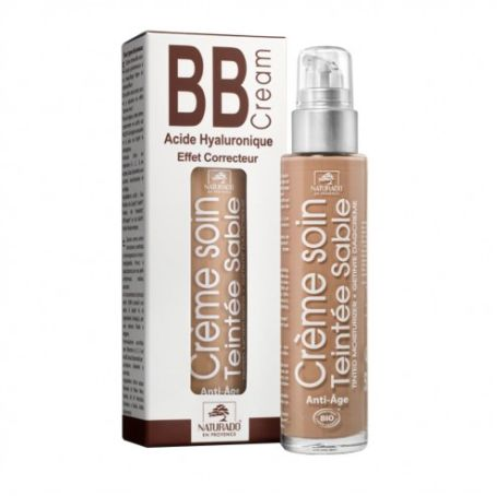 Naturado BB Cream con ácido hialurónico Sable 50 ml