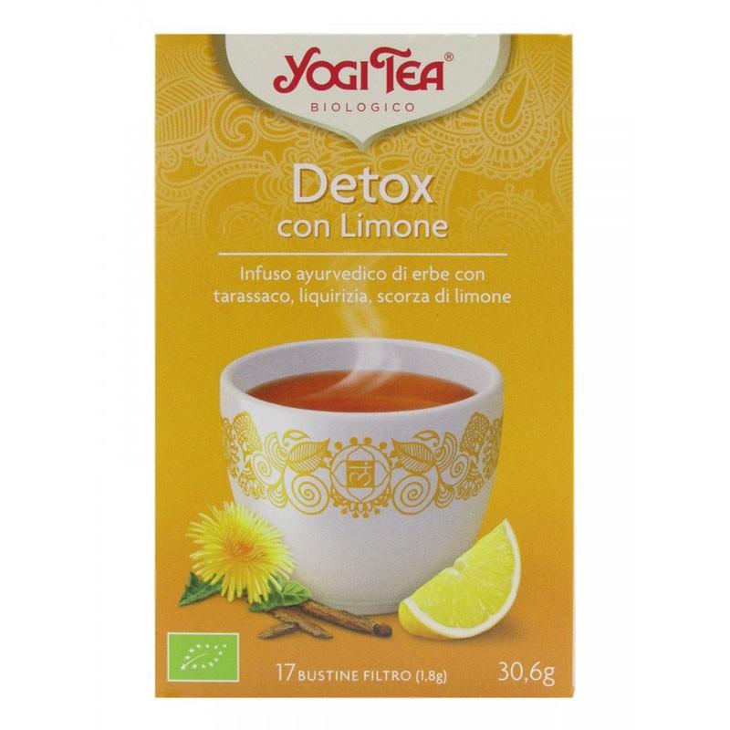 Yogi Tea Detox con Limón 17 infusiones