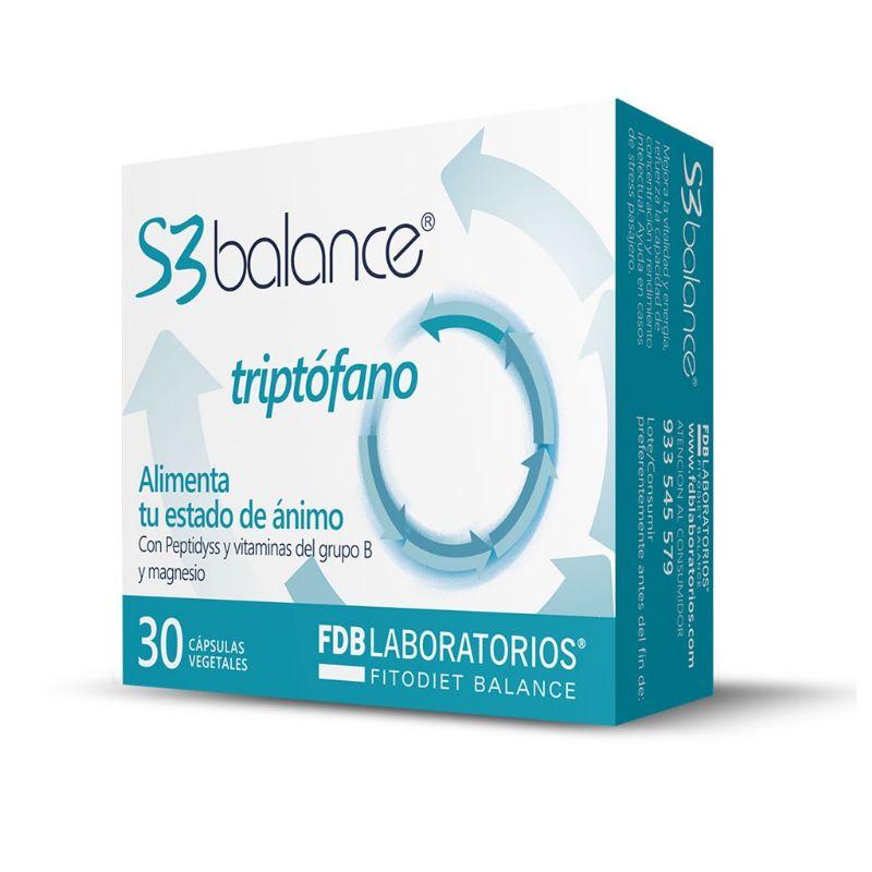 S3 Balance Triptófano 60 cápsulas vegetales