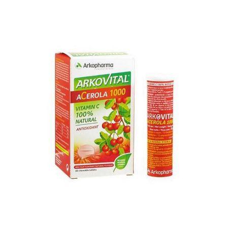 Arkovital Acerola 1000mg 30 comprimidos
