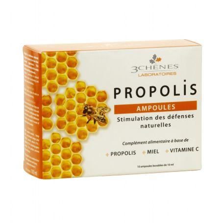 Própolis, Miel, Vitamina C 10 ampollas