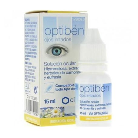 Optiben Colirio Camomila 15ml