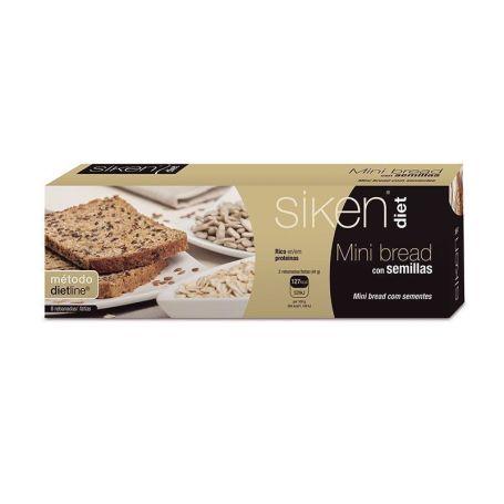 Siken Diet Mini Bread con Semillas 8 rebanadas