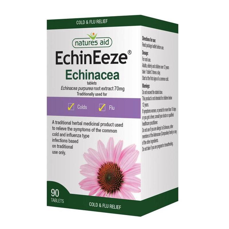 Natures Aid EchinEeze Equinácea 70mg 90 comprimidos