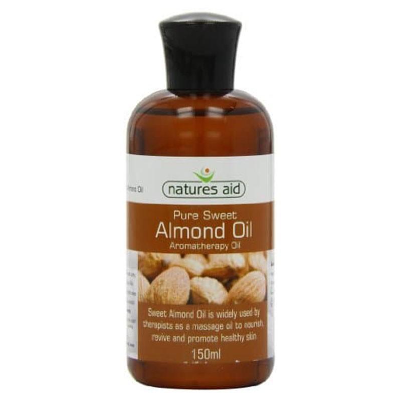 Natures Aid Aceite de Almendras Dulces Orgánico 150 ml