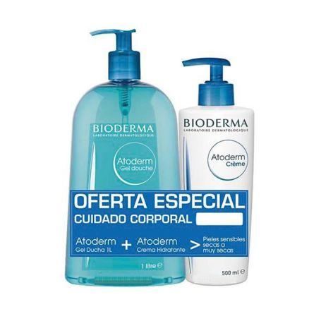 Bioderma Atoderm Pack Gel de Ducha 1 l. + Crema Corporal 500 ml