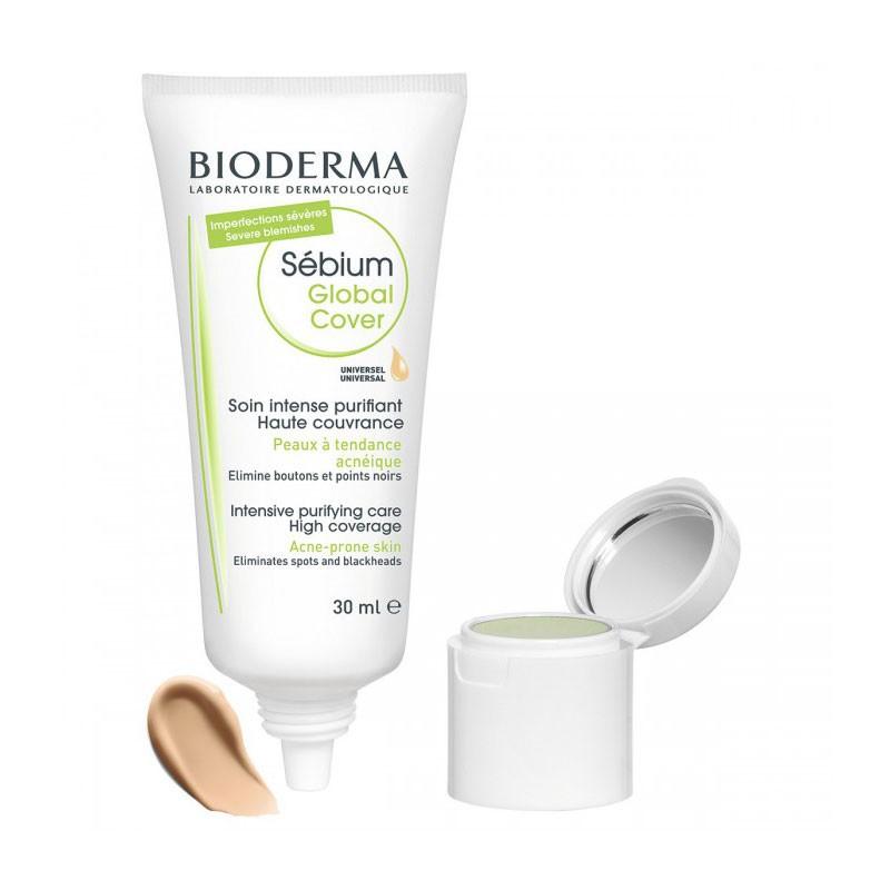 Bioderma Sébium Global Cover Corrector Anti-imperfecciones 30 ml