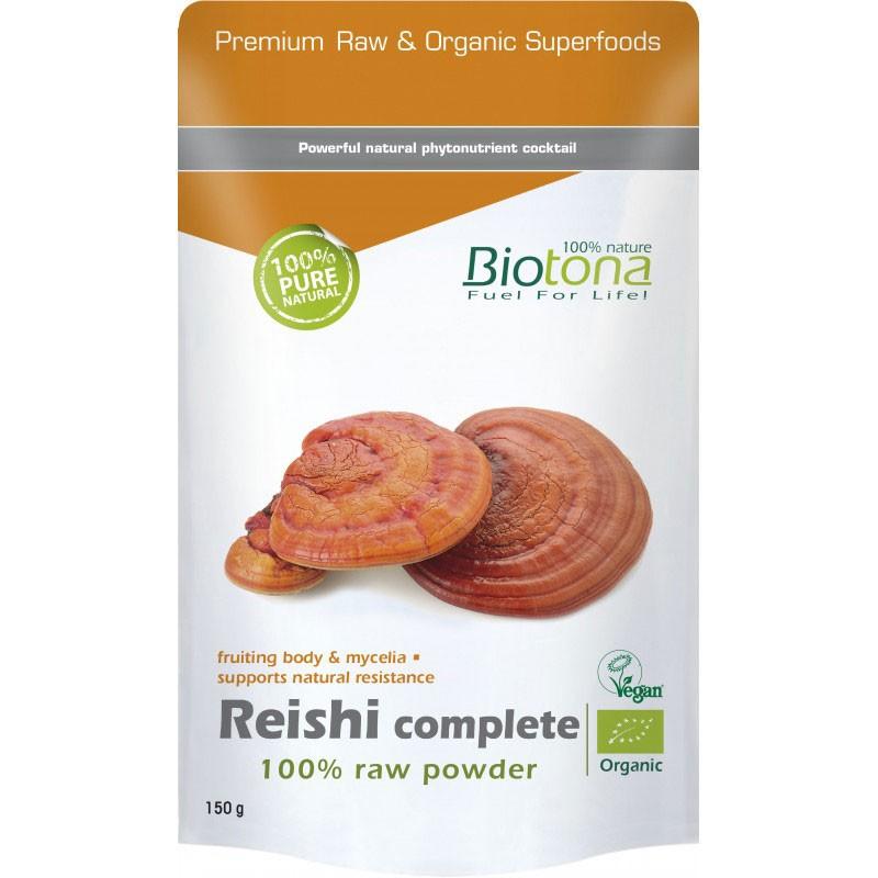 Biotona Reishi Complete Raw BIO en polvo 150 gr