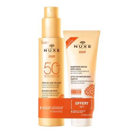 Nuxe Sun Spray Fundente Alta Protección SPF50 150ml